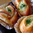 ハムチーズロールとマヨネーズパン(初級・第一回)