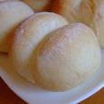 ノンオイルの白パン