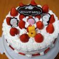 義母の誕生日ケーキ