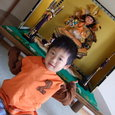 五月人形・ヤマト(2歳11ヶ月)