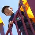 公園で・ヒロ(3歳)