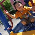 公園で・ヤマト(3歳)