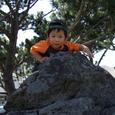 パパの学校で・ヒロ(3歳)