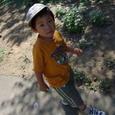 動物園にて・ヒロ(3歳)