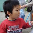 保育所の夏祭り・ヤマト(3歳)