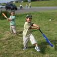 初めての野球(5歳1ヶ月)