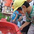 保育所の夏祭り(年中さん)