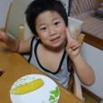 とうもろこしとヤマト(5歳)