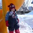 外遊び(2歳8ヶ月)ヒロ